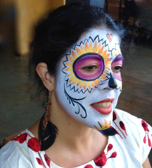 Day of the Dead makeup C