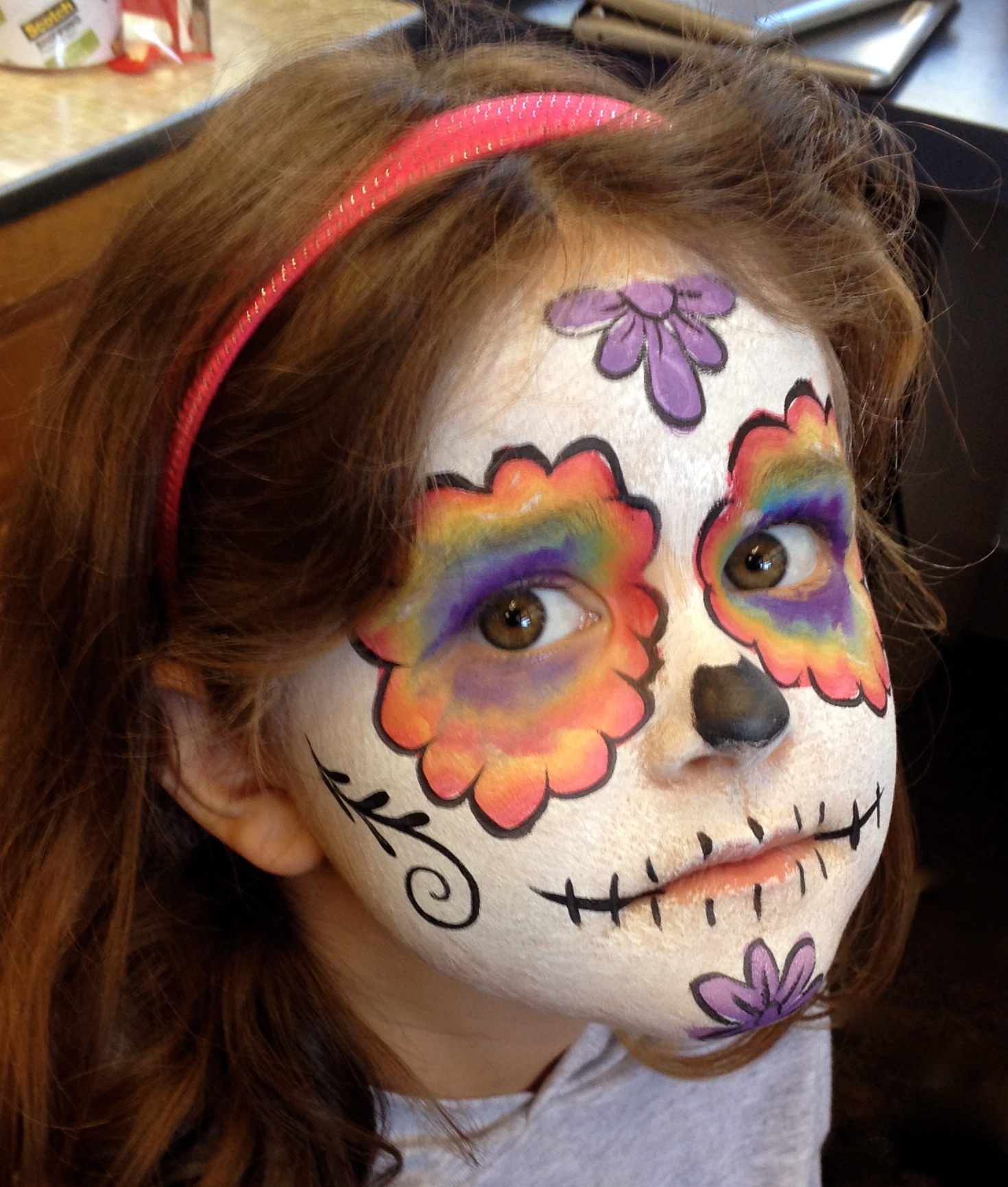 Dia De Los Muertos Brendasfacepainting