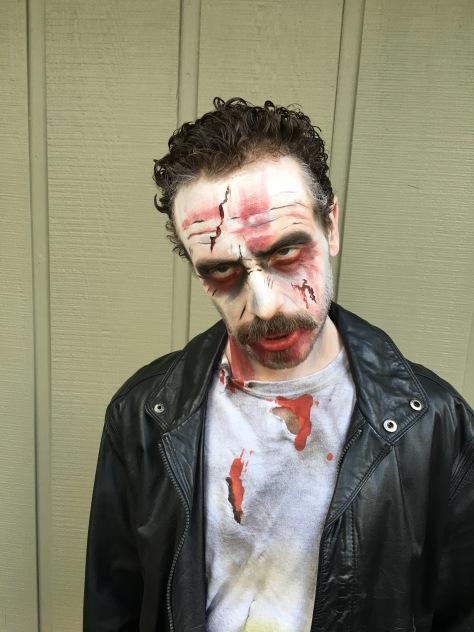 Halloween.zombie.makeup.Brenda's.face.painting